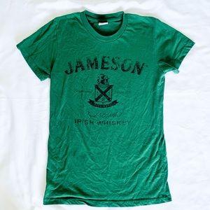 Jameson L Green Logo Short Sleeve Tee Shirt